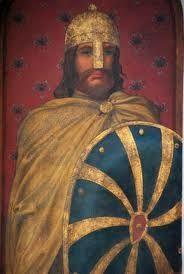 """""""arnulf I van vlaanderen"""", kleinzoon van Alfred de Grote"""