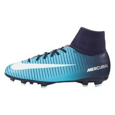 more photos 295c6 79cbe Nike Mercurial Victory VI DF Dynamic Fit FG Youth Soccer Cleats Obsidian  Size: 4.5Y