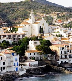 Downtown Cadaques, Spain
