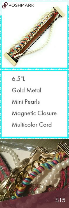 MAGNETIC BRACELET BEADS & THREADS ENJOY BEADS TWISTS THREADS LOOPS ? AND Best of All Your New Bracelet is Magnetic Jeans  Suits and All Night Jazz have The magnesium that Works Jewelry Bracelets