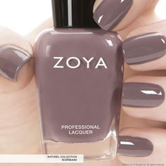 Zoya Nail Polish in Normani a full-coverage sable mauve cream