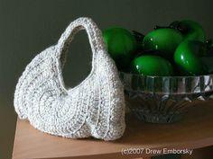 Drew Emborsky- Crochet Dude- Free Purse Crochet Pattern