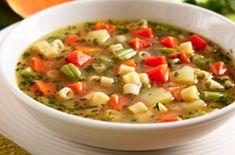 sopa de legumes para emagresopacer vigilantes do peso emagrece mesmo simples Detox Recipes, Soup Recipes, Healthy Recipes, Menu Dieta, Light Diet, Cheat Meal, Light Recipes, Food And Drink, Yummy Food