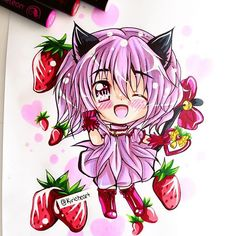 @kiricheart The first of the Tokyo Mew Mew commissions for @golden_gamer_girl…