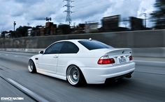 Bmw M3 E46 StanceNation Snow White