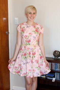 My Simplicity 1873 dress pattern in pretty pink :) £8.15