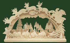 Ratags Online Shop - 3D Light arch sm., Santa Claus