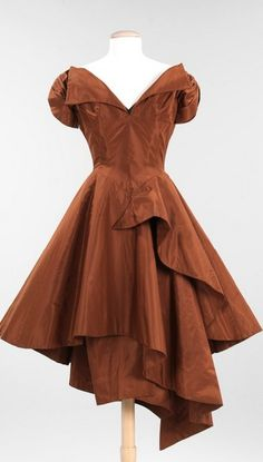 Evening dress.1952. Charles James (American, born Great Britain, 1906–1978)