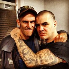 Hank Williams and Phil Anselmo <3 Two of my favorite guys!