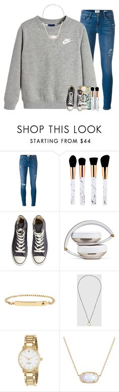 """baby, i'd die for you."" by ellaswiftie13 on Polyvore featuring Frame, NIKE, Converse, A.P.C., Gucci, Kate Spade and Kendra Scott"