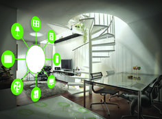 Family Features Special to Valley News With the aid of modern technology, it's now possible to convert virtually any ordinary house into a smart home fille