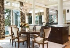 CEBULA DESIGN: Dining Room in Rye, NH #cebuladesign #interiordesign #diningroom