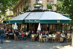 Les Deux Magots, sit and watch the world go by :)