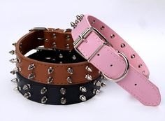 100%  Studded puré leather #DogCollar made from  leathers and highest quality finishing.  http://www.cooldogs.com.au/thin-studded-collar.html