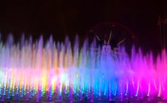 Behind the Scenes: New Custom Animation for 'World of Color; Winter Dreams' at Disney California Adventure Park