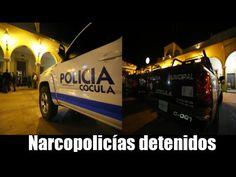 Mandos Policiacos detenidos acusados de peculado y delincuencia organizada