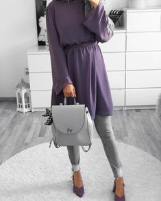 Image may contain: one or more people and shoes Modest Fashion Hijab, Hijab Chic, Muslim Fashion, Fashion Outfits, Hijab Outfit, Hijab Dress, Modest Dresses, Modest Outfits, Muslim Shop