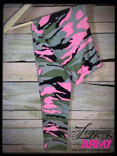 Stealth Pink- 3XL/4XL - Legging Army