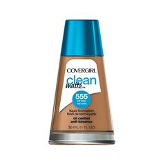 COVERGIRL Clean Matte Liquid Foundation Soft Honey 1 oz * Learn more by visiting the image link. (Note:Amazon affiliate link)
