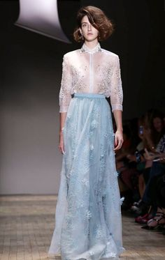 By, Jenny Packham, with the long, loose fitting skirt and floral detail, Adele would wear this out to run errands.