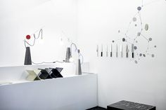 Caesarstone in collaboration with Design Space Gallery at the Fresh Paint Art Fair 2014  #caesarstone #quartz #design #material #art #productdesign #inspiration