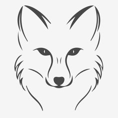 Pencil Art Drawings, Art Drawings Sketches, Easy Drawings, Animal Drawings, Fox Drawing Easy, Drawing Ideas, Fox Sketch, Fox Tattoo, Fox Art