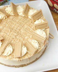 So I made my NoBake Caramac Cheesecake again today hellip