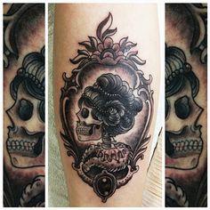 skeleton cameo tattoo | Tumblr