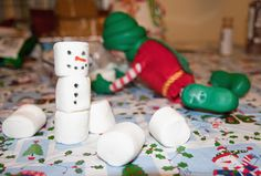 Busy little elf....great christopher popinkins idea