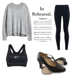 Grease Rehearsal February by classicallytara on Polyvore featuring polyvore, fashion, style, NIKE and clothing