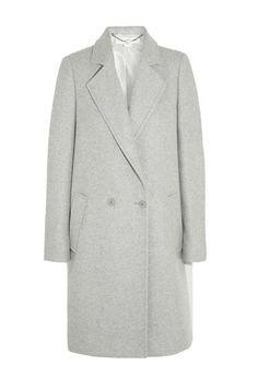 stella mccartney double-breasted wool-blend coat....my dream coat!
