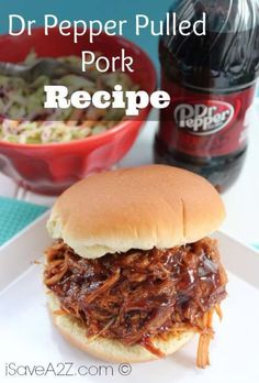 Check out our new recipe for Dr Pepper Pulled Pork! This recipe will show you how to simply make the best pork by including the popular soda, Dr Pepper!
