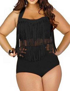 IBTS® Plus Size Bikini Retro High Waist Braided Fringe To... http://www.amazon.com/dp/B01EAI6EPW/ref=cm_sw_r_pi_dp_8slkxb184Z5ZS