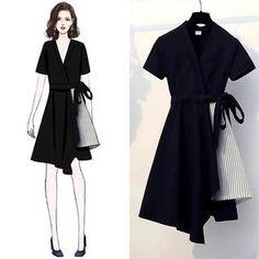 Kpop Fashion Outfits, Girls Fashion Clothes, Mode Outfits, Girly Outfits, Star Fashion, Look Fashion, Korean Fashion, Girl Fashion, Fashion Drawing Dresses