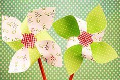 Fabriquer un moulin à vent en papier - Momes.net