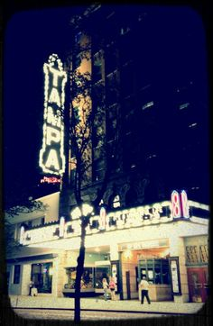 I saw movies here, I saw concerts here, I fell in love here.