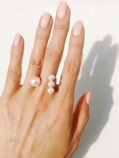 Open Four Pearl Ring, How would you style this? http://keep.com/open-four-pearl-ring-by-teenvogue/k/1vmRukABDz/