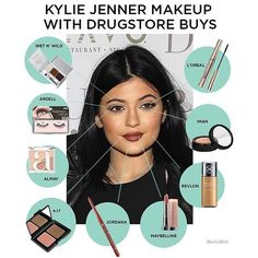how to recreate Kylie Jenner's makeup look using Ardell lashes from Madame Madeline.