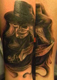 puppet master tattoo