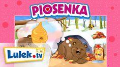 Piosenki dla dzieci. Stary niedźwiedź mocno śpi. Lulek.tv