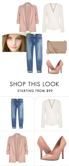 """jeans"" by linamakovskaya on Polyvore featuring мода, Frame, Elizabeth and James, River Island, Charles by Charles David и Vivienne Westwood"