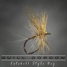 """flyfishfood: """"A little throwback old school. #flyfishing #flytying #trout #classicdryfly """""""