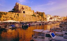Travel Inspiration for Spain - Menorca travel guide Ciutadella Menorca, Backpacking Asia, Old Wall, Balearic Islands, Europe Photos, Best Hotels, Poster Size Prints, Photo Mugs, The Good Place