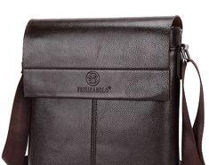 887a4192ea21 Big SALE New collection 2018 fashion men bags men casual leather messenger  bag high quality man brand business bag men  handbag