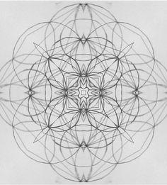Sacred Geometry Drawings Tumblr