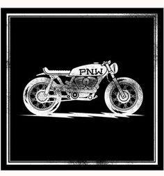 Cafe Racer Print