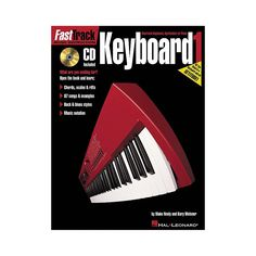 Hal Leonard Fast Track Keyboard Method Book 1 CD Package