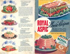 More delicious recipes from 1950's. :)