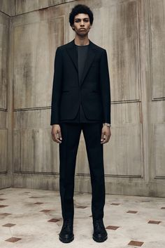 Balenciaga Spring 2016 Menswear - Collection -thefashionjumper.com #allblack