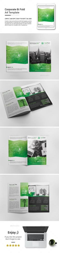 Civil engineers brochure template design print for Corporate bi fold brochure template